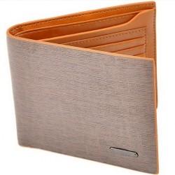 Kožená pánská peněženka světle hnědá