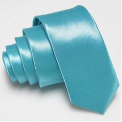 Slim kravata tyrkysová