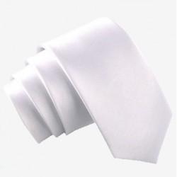 Slim kravata světle šedá