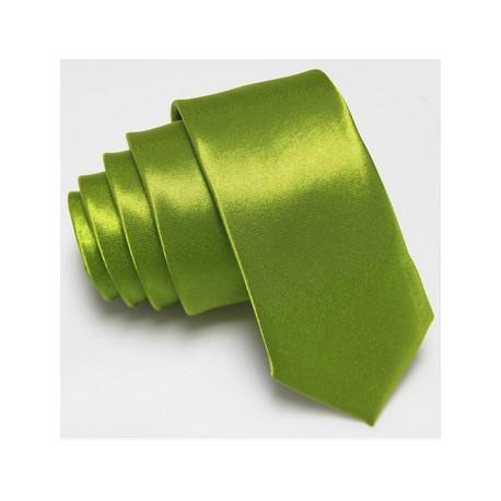 Slim kravata zelená
