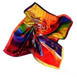 Hedvábný šátek 53SD02B