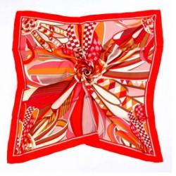 Hedvábný šátek 90ST011C
