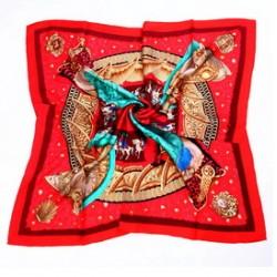 Hedvábný šátek 90ST012A