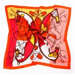 Hedvábný šátek 90ST017C