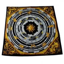Hedvábný šátek 90ST018A