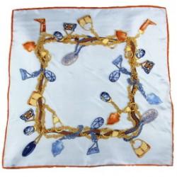 Hedvábný šátek 90ST020A