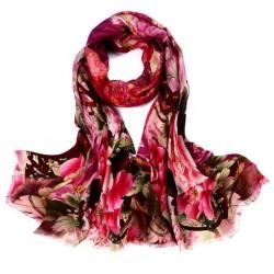 Hedvábný šátek WS703