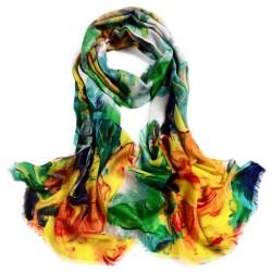 Hedvábný šátek WS707