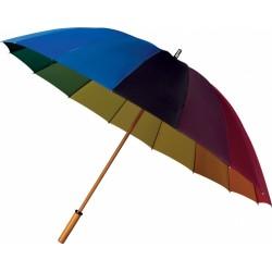 Deštník golfový manuální Rainbow