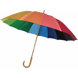 Deštník holový manuální Rainbow